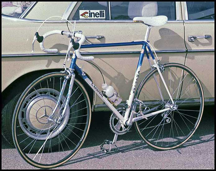 Crescent built by Eddy Merckx