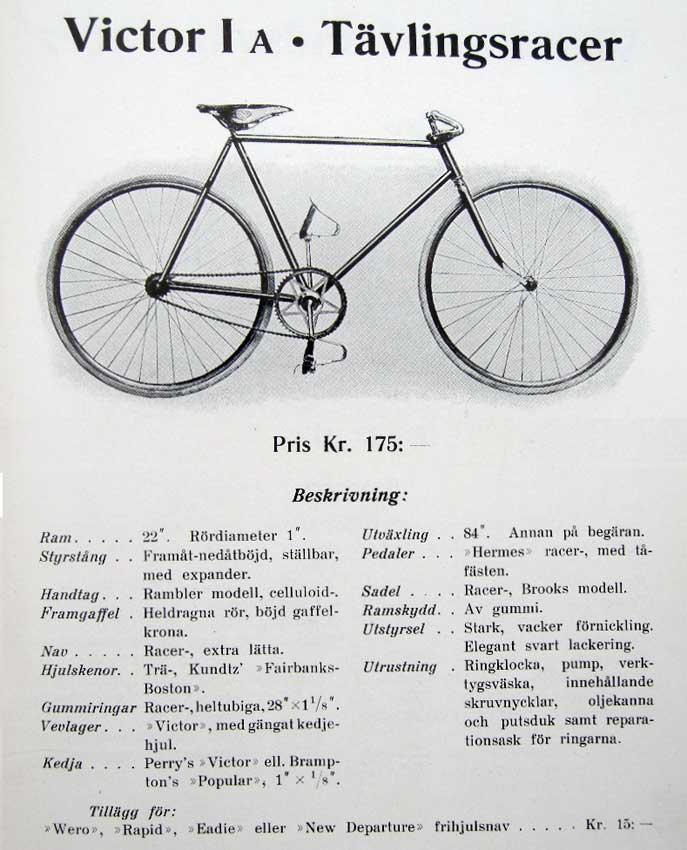 cykel viktor uppsala
