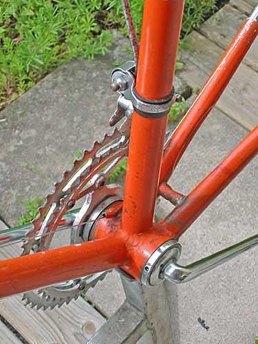 byta vevlager gammal cykel