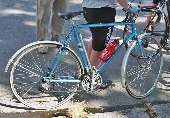 mustang racer cykel